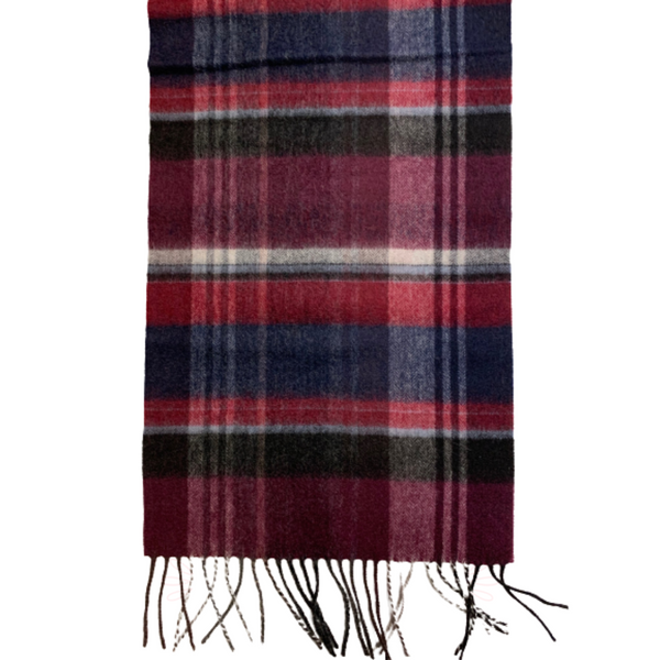 Failsworth Lambswool Check Scarf