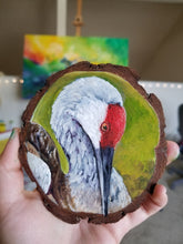 Load image into Gallery viewer, Custom Wood Round Painting