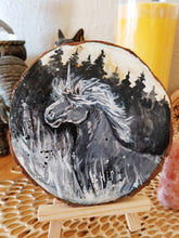 Load image into Gallery viewer, Dusk Unicorn Wood Round
