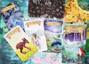 Tarot Fauna Imperfect Condition