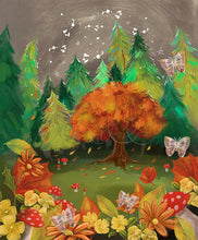 "Load image into Gallery viewer, ""Autumn Forest"" Fine Art Print"