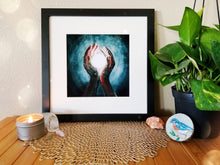 "Load image into Gallery viewer, ""Crown Chakra"" Print"