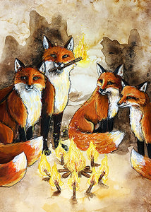 Suit of Torches Prints
