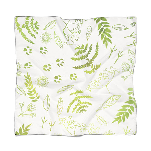 Forest Prints Scarf Light
