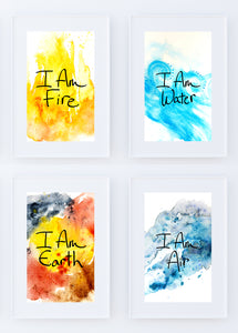 """I Am Elements Collection"" Prints"