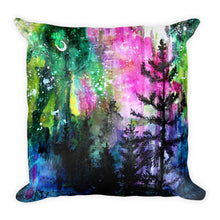 Load image into Gallery viewer, Singularity || Evening Trees Square Pillow