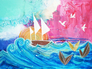 """Sweet Sailboat Dreams"" Fine Art Print"