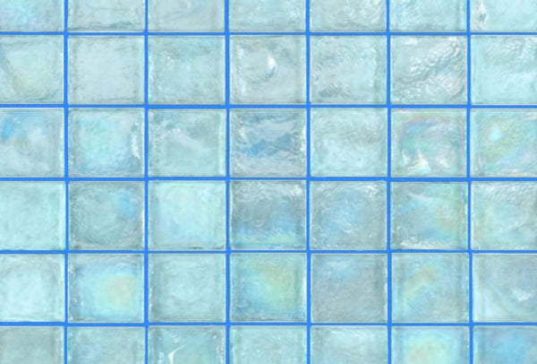 Blue tile grout by Grout360