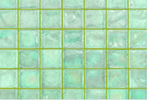 Avocado Grout with Green Glass Tile Grout Colors Selector