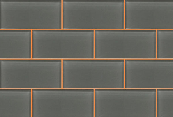 Orange Tile Grout with by Grout360