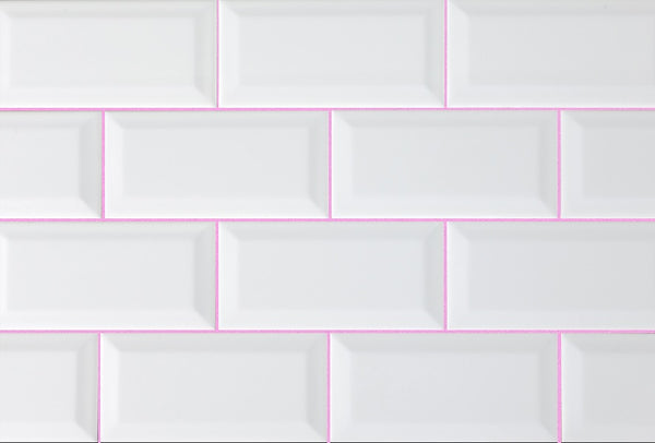 Pink tile grout by Grout360