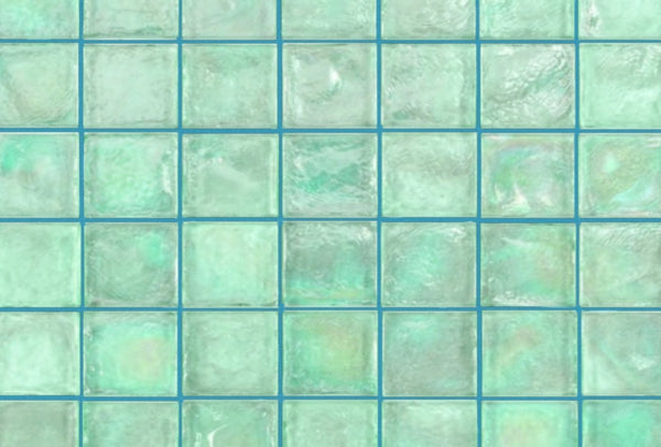 Teal tile grout by Grout360