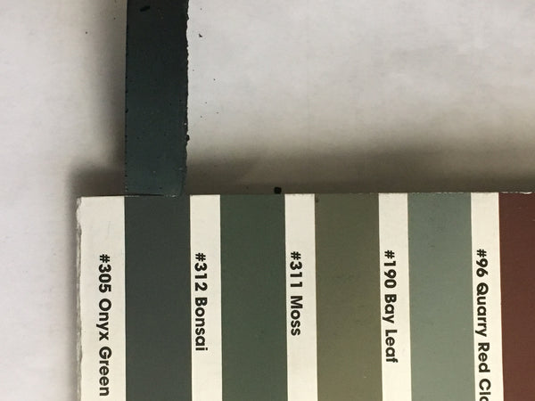 XT  matched to CBP 305 Oynx Green Sanded Tile Grout