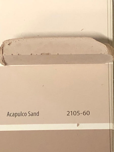 XT matched to BM 2105-60 Acapulco Sand Sanded Tile Grout