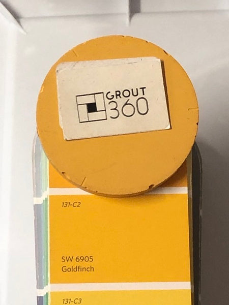 XT Custom - matched to SW 6905 Goldfinch Unsanded Grout