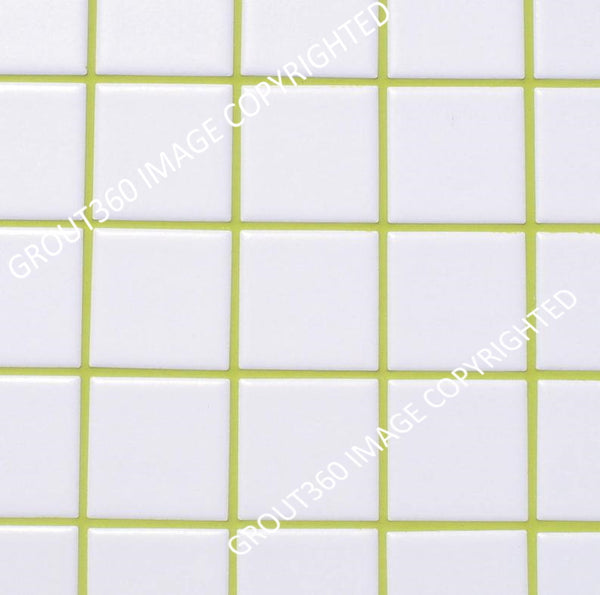 Sanded Avocado Green Tile Grout - Green Grout