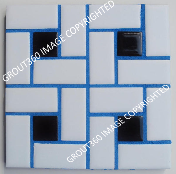 Sanded Buzzed Blue Tile Grout - Blue Grout