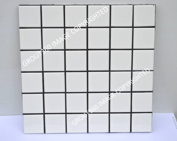 Sanded Black Tile Grout - Black Grout