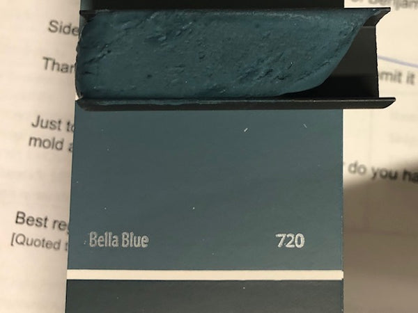 XT Custom - matched to BM 720 Bella Blue Unsanded Tile Grout