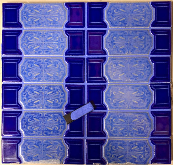 Epoxy Tile Grout Blue