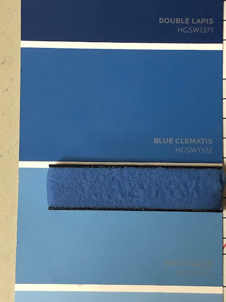 E-1500 Custom matched to SW HGSW1372 Blue Clemantis 1500 Sanded Tile Grout - 11 lbs per kit