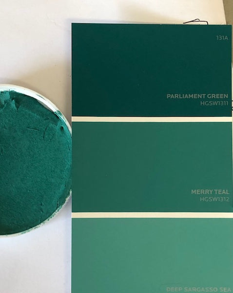 XT Custom matched to HGSW1312 Merry Teal Unsanded Grout