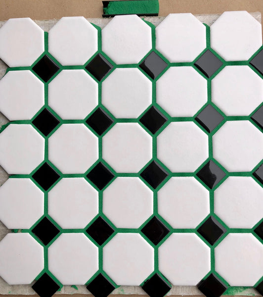 Epoxy Tile Grout Green