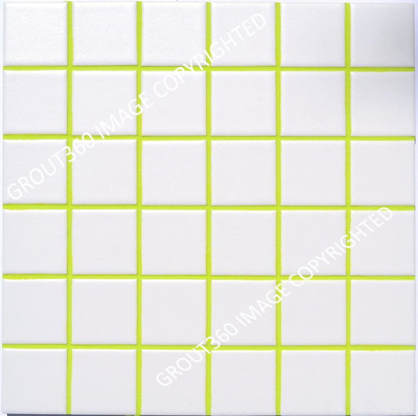 Unsanded Lime Green Tile Grout - Green Grout