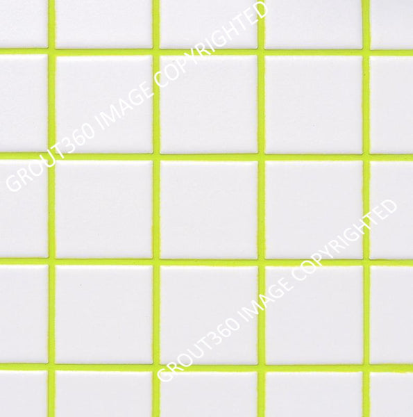 Sanded Lime Green Tile Grout - Green Grout