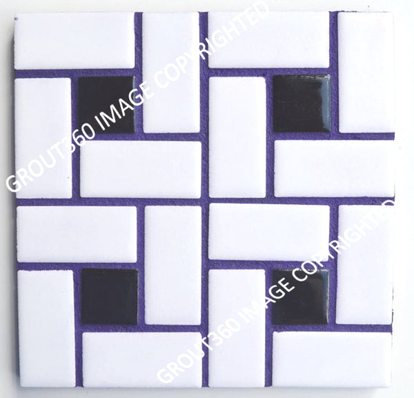 Sanded Purple Punk Tile Grout - Purple Grout lavendar
