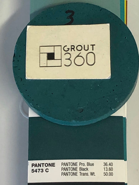 XT Custom matched to Pantone 5473 C Sanded Tile Grout
