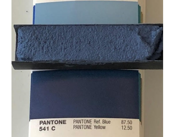 XT Custom matched to Pantone 541C Sanded Tile Grout
