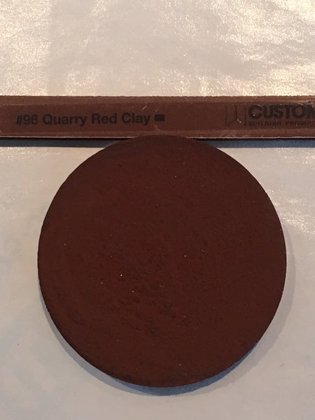 XT Custom matched to CBP 96 Quarry Red Tile Grout Sanded