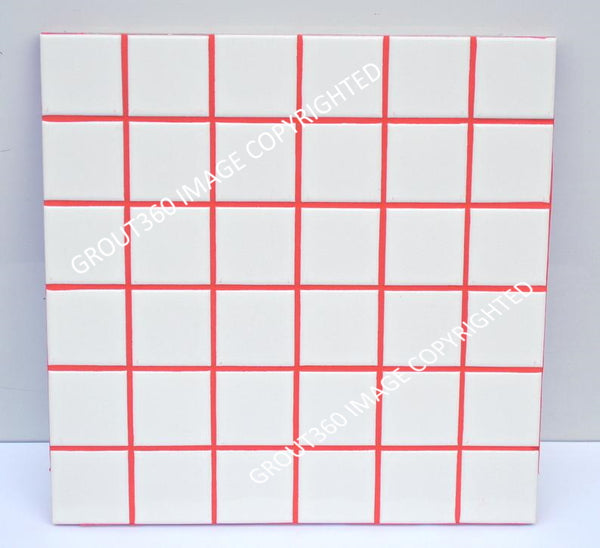 Sanded Bright Ragin' Red Tile Grout - Bright Red Grout