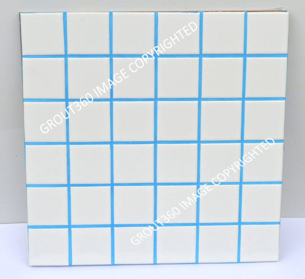 Unsanded Sky Blue Tile Grout - Blue Grout