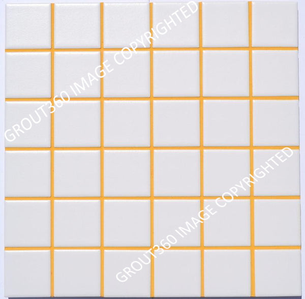 Sanded Sunflower Tile Grout - Yellow Grout