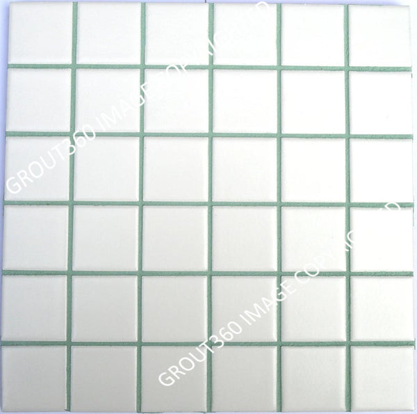 Sanded Seafoam Green Tile Grout - Light Green Grout