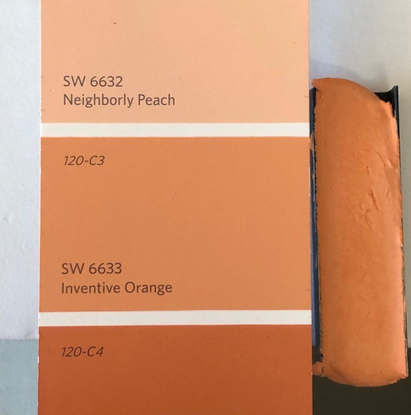 XT Custom - matched to SW 6633 Inventive Orange Unsanded Grout