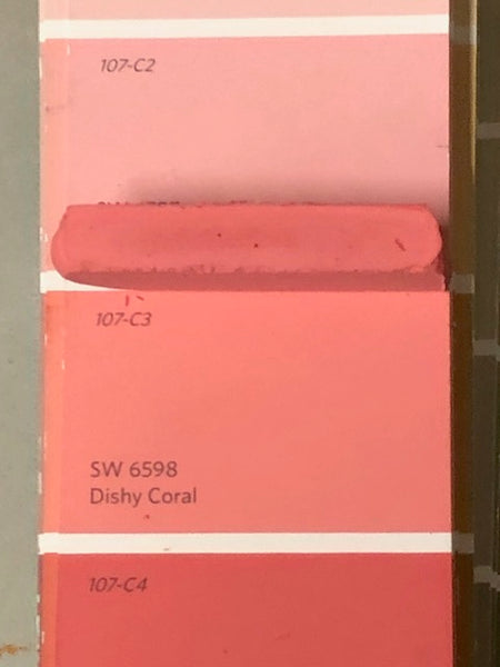 XT Custom matched to SW 6598 Dishy Coral Unsanded Tile Grout
