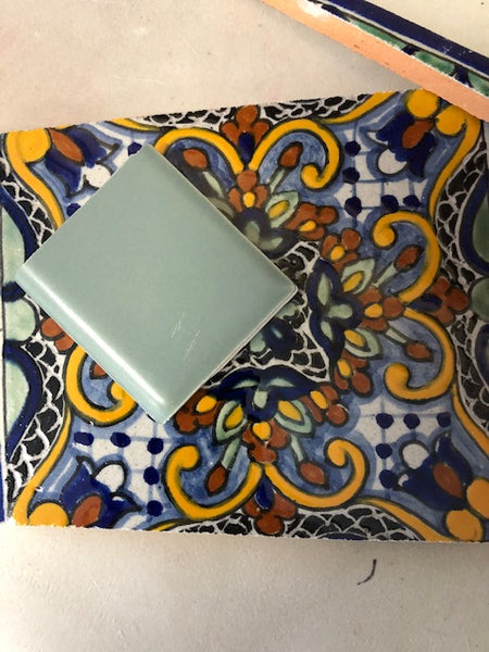 XT Custom - Mexican Tile Blue Unsanded Grout