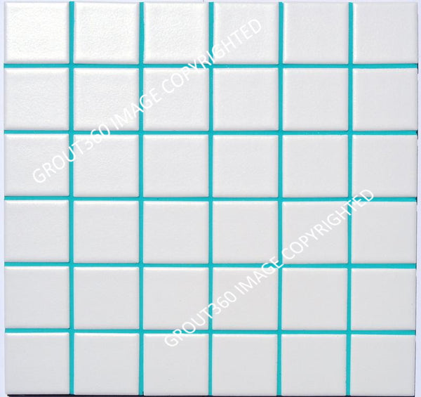 Sanded Turquoise Tile Grout