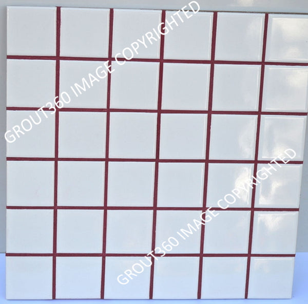 Sanded Wine Red Tile Grout - Red Grout
