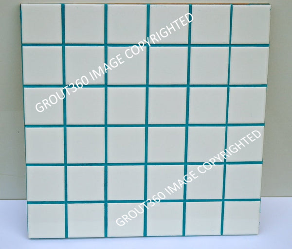 Unsanded St. Martins Teal Tile Grout - Aqua Green Grout