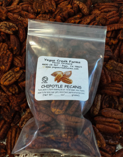 Chipotle Pecans - Yegua Creek Farms