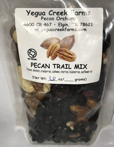 Pecan Trail Mix - Yegua Creek Farms