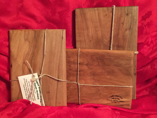 Rectangular pecan cutting board - Yegua Creek Farms