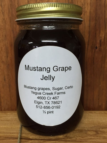 Mustang Grape Jelly - Yegua Creek Farms