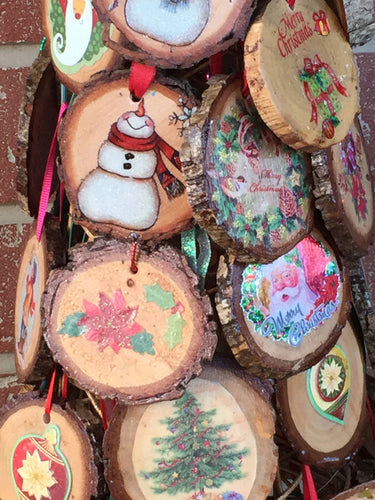 Pecan Wood Ornament - Yegua Creek Farms
