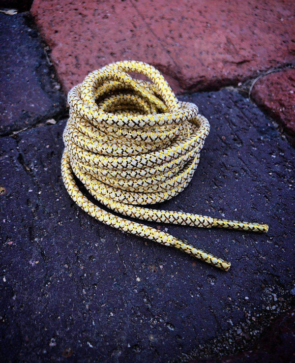 Gold & White Metallic Laces