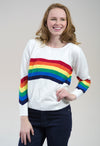 The Jordin Rainbow Sweater